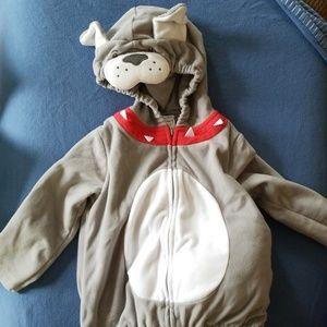 Carter's puppy costume sweatshirt